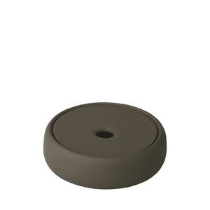 Blomus Емкость для хранения / мыльница 12 см. темно-оливковая Sono 69157